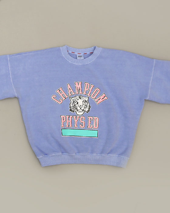 Tiger Pigment Napping Sweat shirts