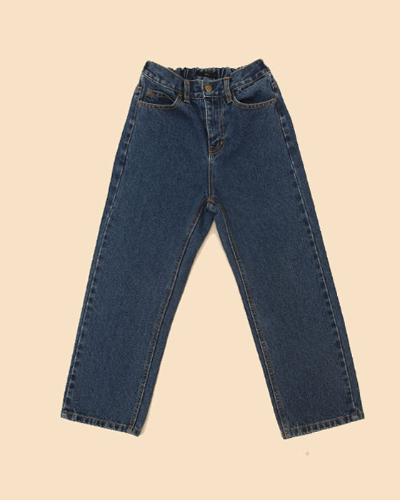 220-1 Basic Napping Denim Pants
