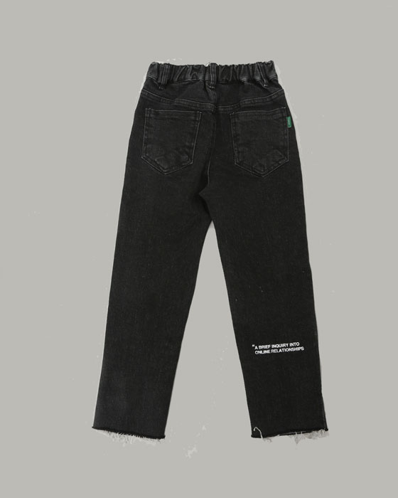 2103 Span Black Denim Pants