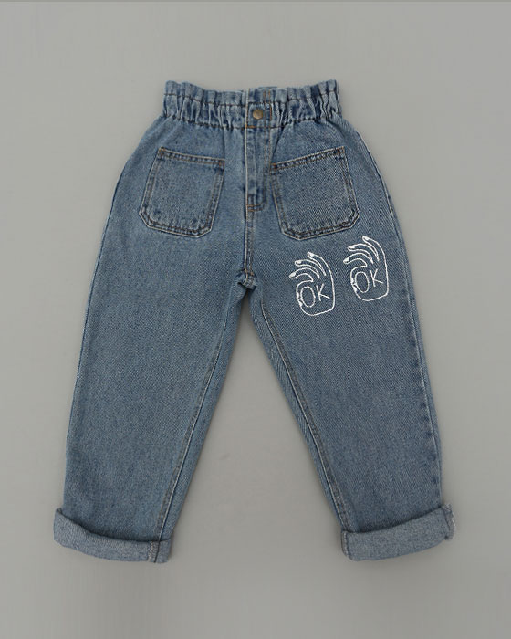2102 OK Denim Pants