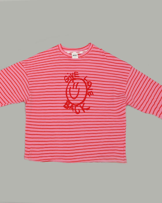Smile Stripe T-shirts