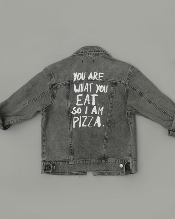Pizza Denim Jacket